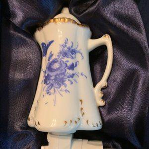 Adeline Fine Porcelain Teapot Night Light